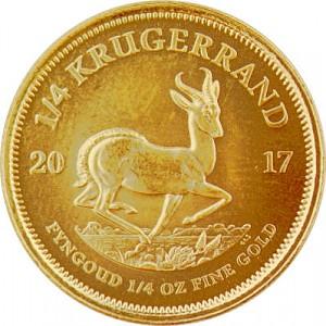 Krügerrand 1/4oz Gold - 2017