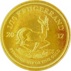 Krügerrand 1/10oz Gold - 2017