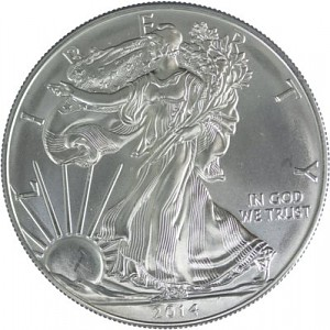 American Eagle 1oz Silver - B-Stock