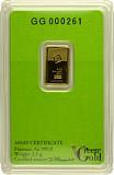 Goldbarren 2,5g - Green Gold VALCAMBI
