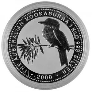 Kookaburra 1kg Silber - 2000