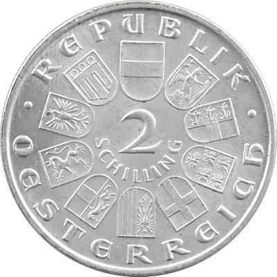 2 Schilling österreich 768g Silber 1928 1937 Edelmetalle Direkt