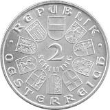 2 Schilling Österreich 7,68g Silber (1928 - 1937)