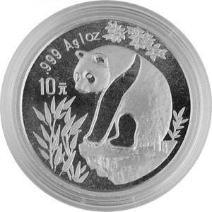 China Panda 1oz Silber - 1993