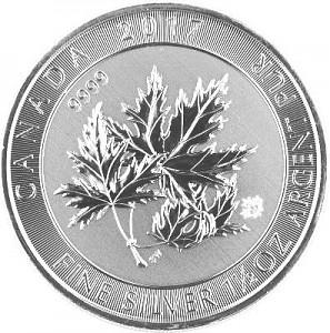Multi Maple Leaf 1,5oz d'Argent (Super Leaf) - 2017