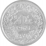 ½ Schweizer Franken 2,088g Silber (1875 - 1967)