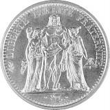 10 Franc Frankreich 'Hercules' 22,5g Silber (1964- 1973)