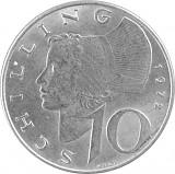 10 Schilling Österreich 4,8g Silber (1957 - 1973)