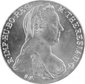 Maria Theresien Taler 23,38g Silber - B-Ware