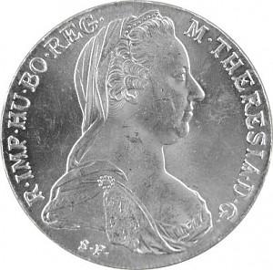 Thaler de Marie-Thérèse 23,38g d´argent - Deuxième Choix