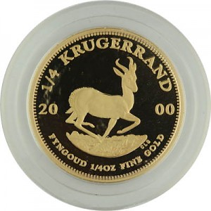 Krugerrand 1/4oz Gold Proof - 2000