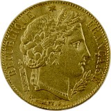 20 Francs Ceres 5,81g Gold