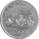 500 Lire Italien 9,185g Silber (1958 - 1979)