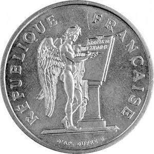 100 Franc France 14,75g Silver (1984 - 1989)