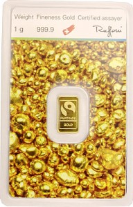 "Goldbarren 1g - ""Fairtrade Gold"""
