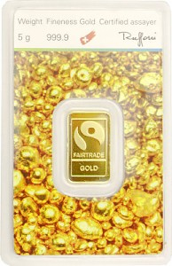 Gold Bar 5g - 'Fairtrade Gold'