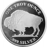 American Buffalo Round Silbermedaille 1oz Silber