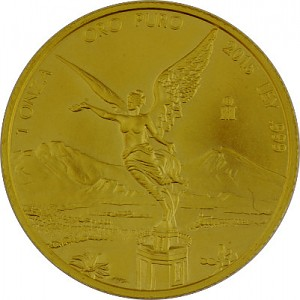 Libertad mexicain 1oz d'or fin -2015