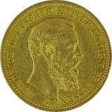 20 Mark Friedrich III. 7,16g Gold