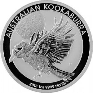 Kookaburra 1oz Silber - 2018