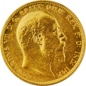 1 Pfund Sovereign Edward VII. 7,32g Gold