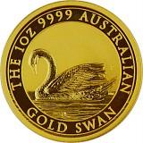 Australien Schwan 1oz Gold - 2017