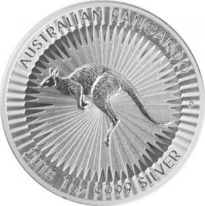 Australien Känguru 1oz Silber - 2018