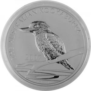 Kookaburra 1kg Silber - 2007