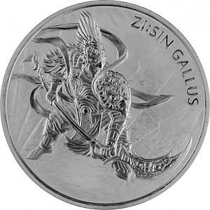 Zi Sin Gallus South Korea 1oz silver - 2017