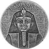 Republic of Tschad Ramses II 2oz Silber - 2017