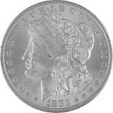 1 US Morgan Dollar 24,05g Silber - 1878 - 1904, 1924