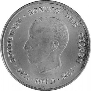 250 Franc Belgien 22,88g Silber - 1976