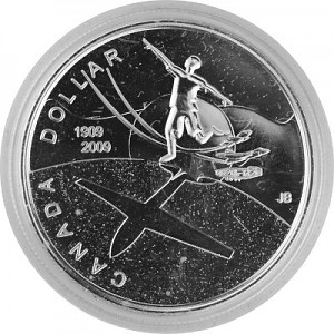 1 Canada Dollar Celebrating Thayendanegea 23,28g Silber - 2009 proof