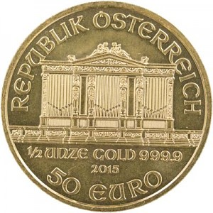 Vienna Philharmonic 1/2oz Gold