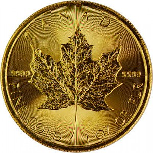 Maple Leaf 1oz Gold - 2018