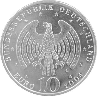10 eur gedenkm nze deutschland 16 65g silber 2002 2010 b ware edelmetalle direkt. Black Bedroom Furniture Sets. Home Design Ideas