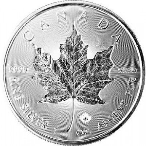 Maple Leaf 1oz Silber - 2018 Incuse
