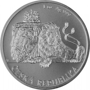 Niue Czech Lion 1oz Silver - 2017