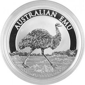 Emu Australien 1oz Silber - 2018