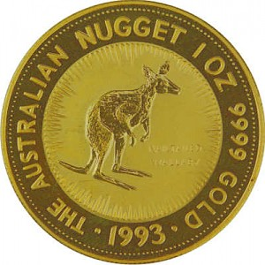 Australian Kangaroo 1oz Gold - 1993