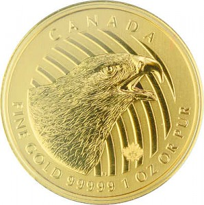 Call of the Wild - Golden Eagle (Steinadler) 1oz Gold - 2018
