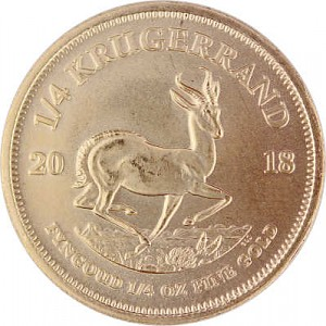 Krugerrand 1/4oz d'or fin - 2018