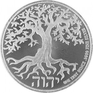 Niue Tree of Life Truth Serie 1oz Silber - 2018