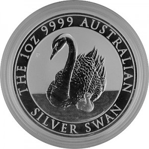 Schwan Australien 1oz Silber - 2018