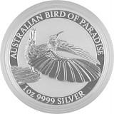 Birds of Paradise - Victoria Paradiesvogel 1oz Silber - 2018