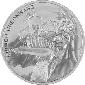 Chiwoo Cheonwang Südkorea 1oz Silber - 2018