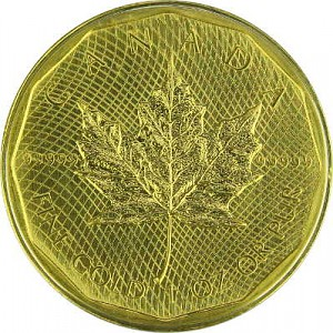 Canadian Maple Leaf 1oz Gold - Special Edition 2009