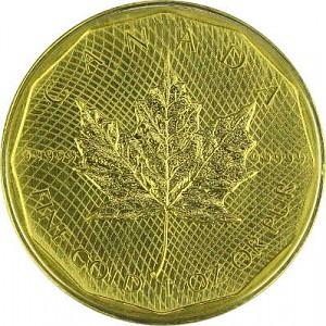 Maple Leaf 1oz d'or fin - Édition spéciale 2009
