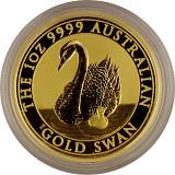 Australien Schwan 1oz Gold - 2018