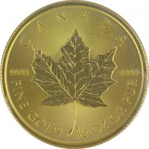Maple Leaf 1/2oz Gold - 2018